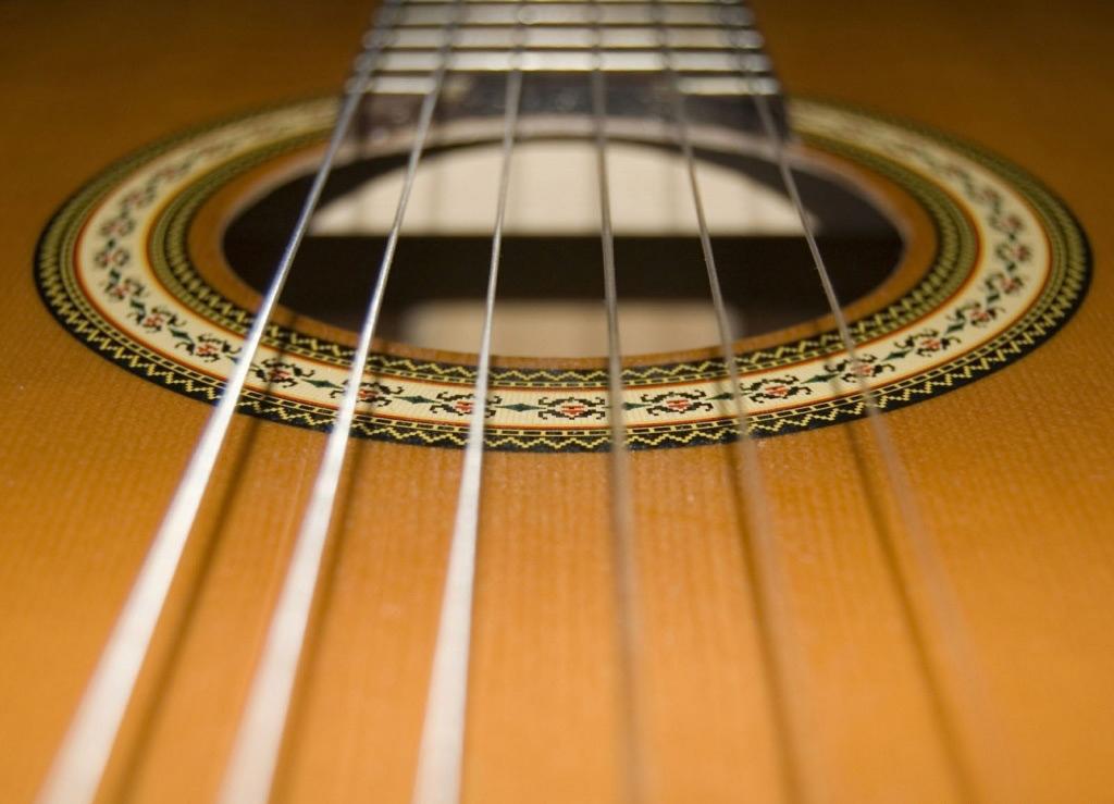 conservar cordas violão