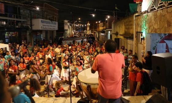 Recife- PE- Brasil- 17/01/2015- Ensaio de Naná Vasconcelos na sede do Maracatu Porto Rico. Foto: Rafa Medeiros/ Prefeitura do Recife